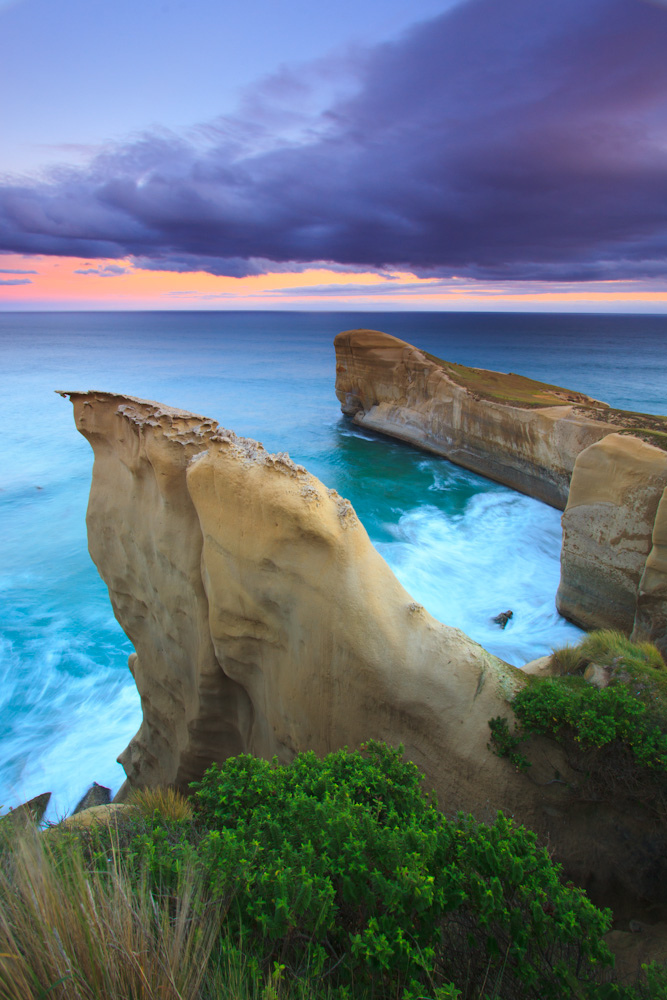 beautiful picture of the tunnel beach dunedin new zealand. Black Bedroom Furniture Sets. Home Design Ideas