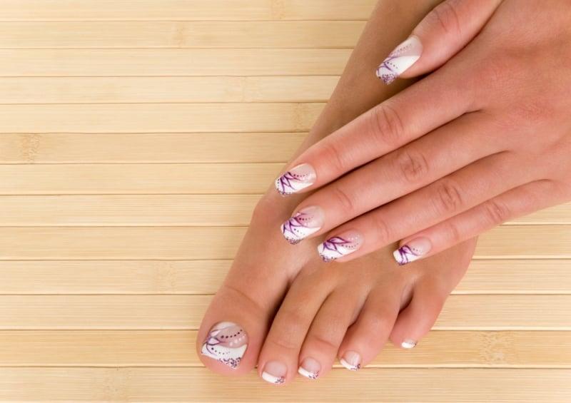 20 French Manicure Nail Art Ideas