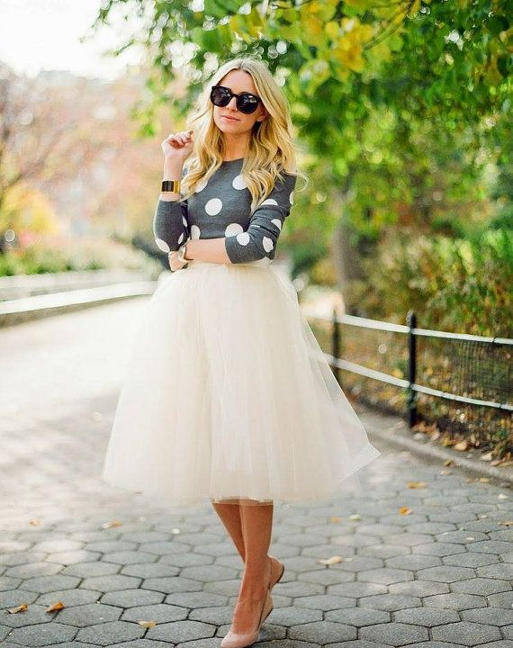 Top 16 Awesome Trends With Tulle Skirt For Spring Summer