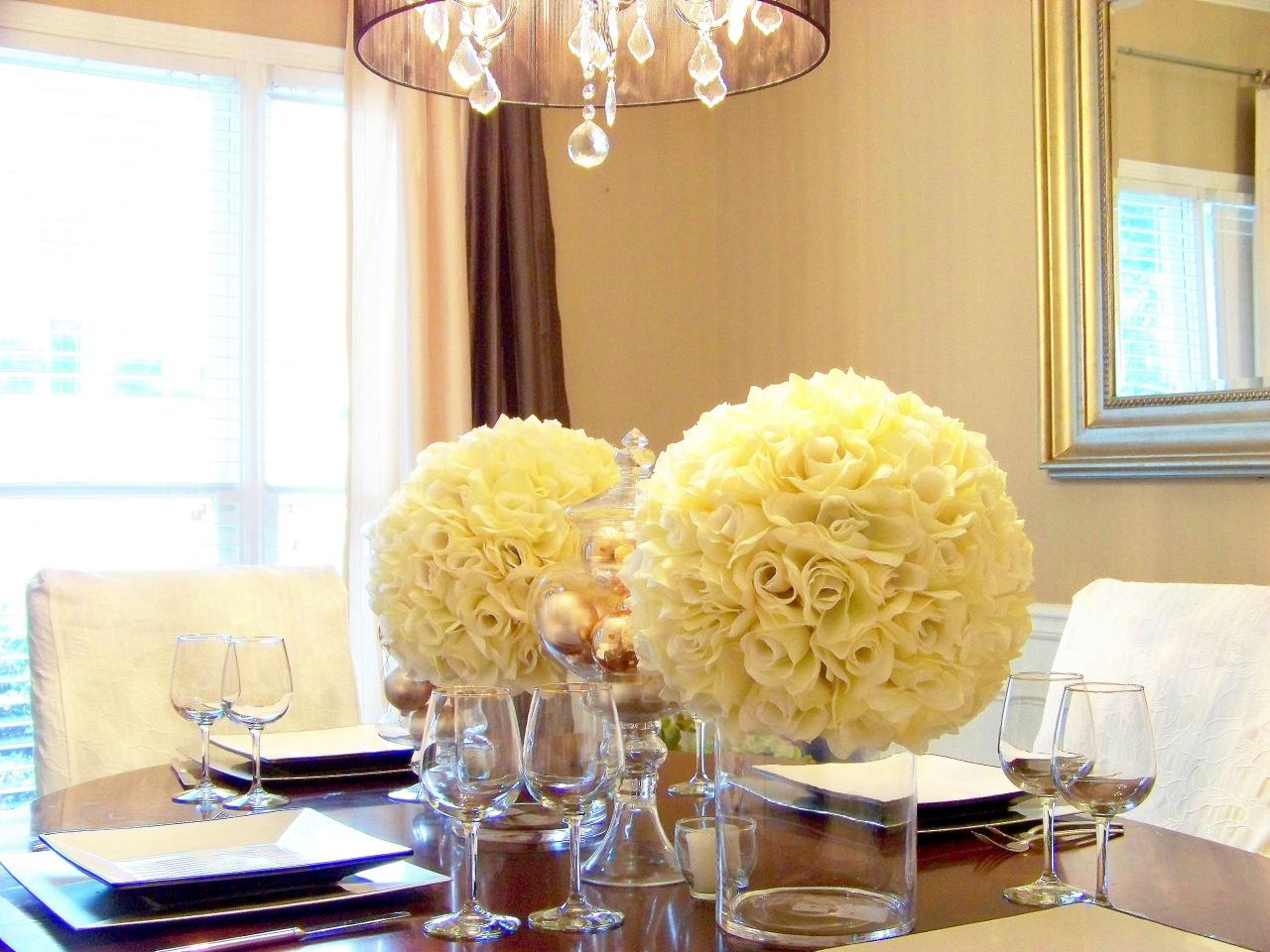 Top 10 table centerpiece ideas for a great atmosphere for Dining room floral centerpieces