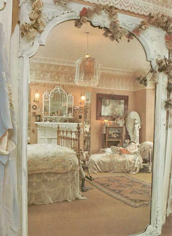 33 cute and simple shabby chic bedroom decorating ideas for Pretty decorations for bedrooms