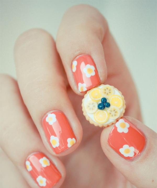 32 Gorgeous Nail Art Images Inspired By Summer Motifs: 10 Breath-taking Manicure Ideas For Short Nails