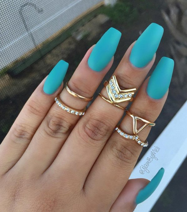 74 Cute Looks For Matte Nails You Need To Try Right Now Ecstasycoffee