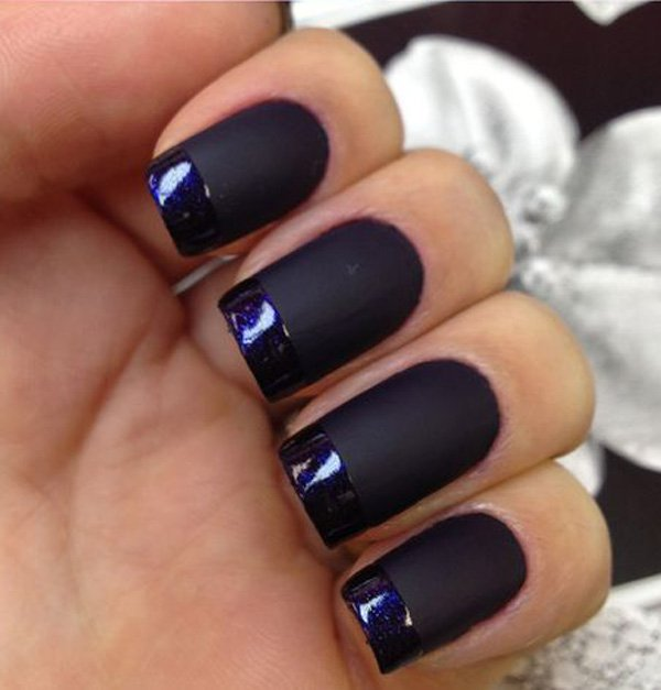 74 cute looks for matte nails you need to try right now ecstasycoffee. Black Bedroom Furniture Sets. Home Design Ideas