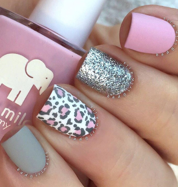 Cute Nail Designs: 60 Stylish Leopard And Cheetah Nail Designs That You Will