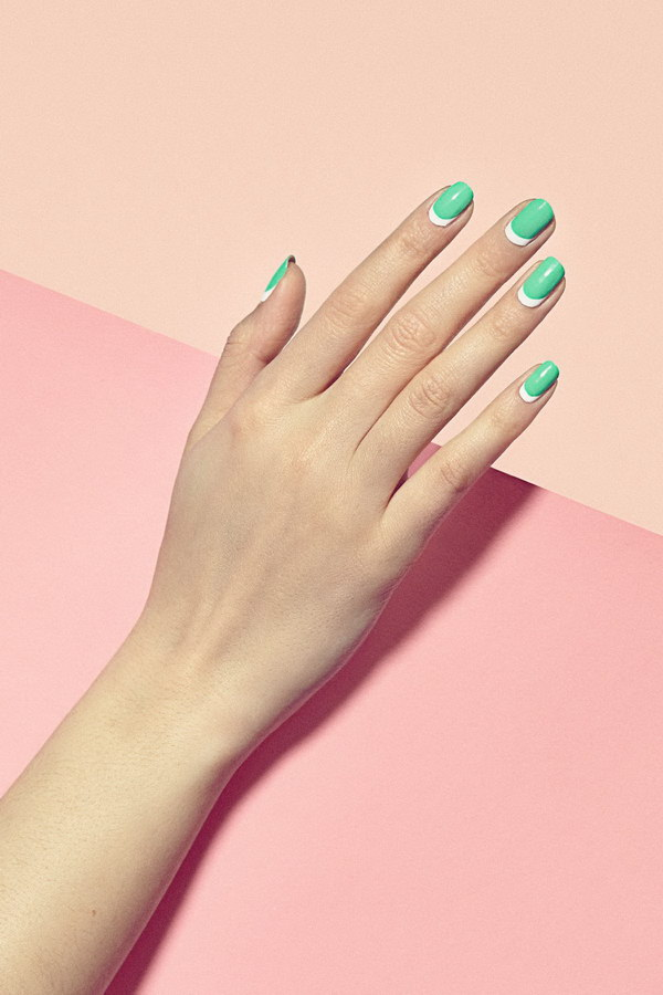 40 Elegant And Amazing Green Nail Art Designs That Will