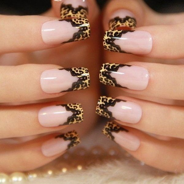 60 Stylish Leopard And Cheetah Nail Designs That You Will Love Ecstasycoffee