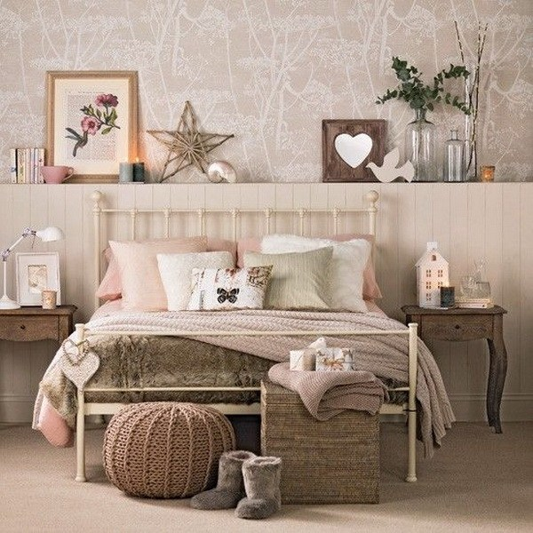 Shabby Chic Teen Bedroom: 33 Cute And Simple Shabby Chic Bedroom Decorating Ideas