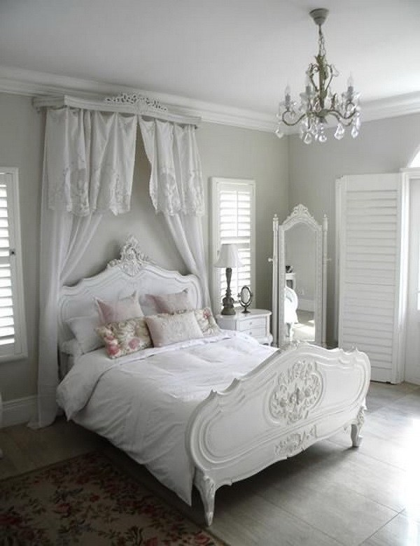 French Romantic Bedroom: 33 Cute And Simple Shabby Chic Bedroom Decorating Ideas