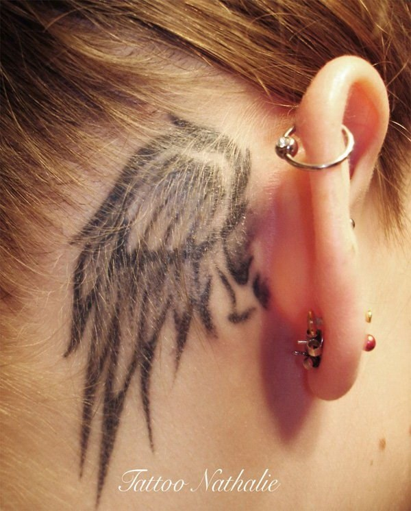 Tattoo Designs Behind Ear: 50 Most Beautiful Behind The Ear Tattoos That Every Girl