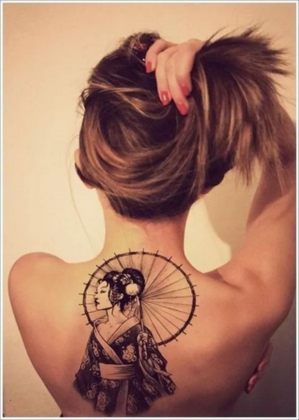 40 amazing female tattoos on back that you wish you had for Cute lower back tattoos tumblr