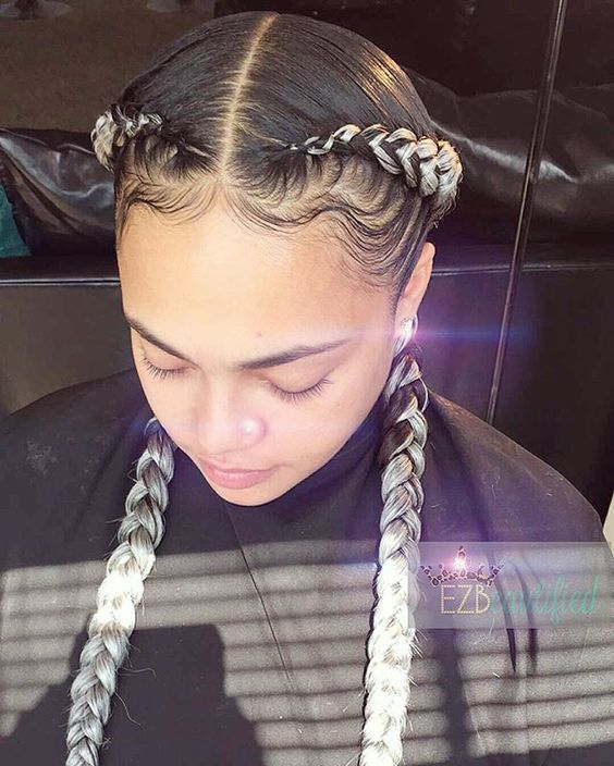 40 Super Cute And Creative Cornrow Hairstyles You Can Try
