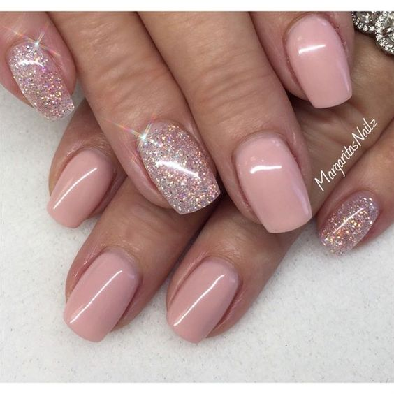 Ideas For Short Nails Easy Nail Art: 50 Stunning Manicure Ideas For Short Nails With Gel Polish