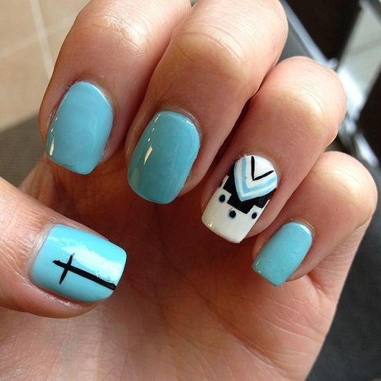 25 inspirational nail art inspired by native american