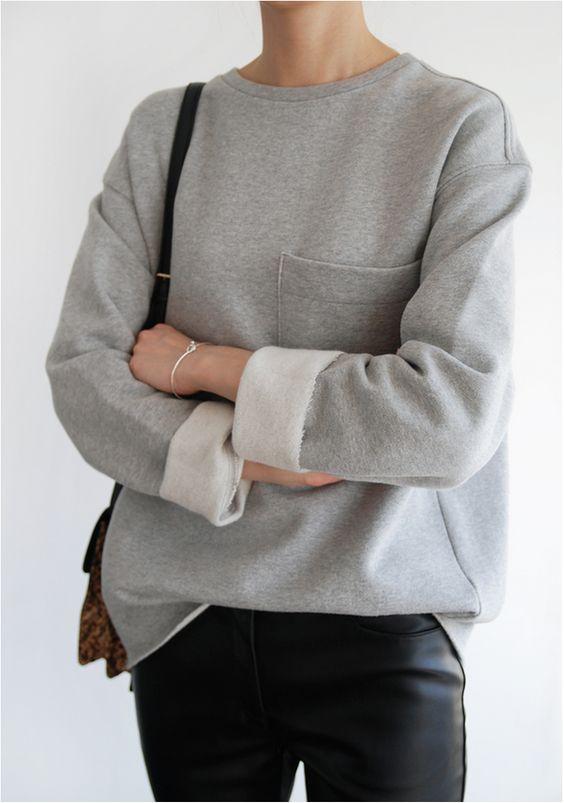 40 Fresh Ideas To Wear Sweatshirts This Spring Ecstasycoffee