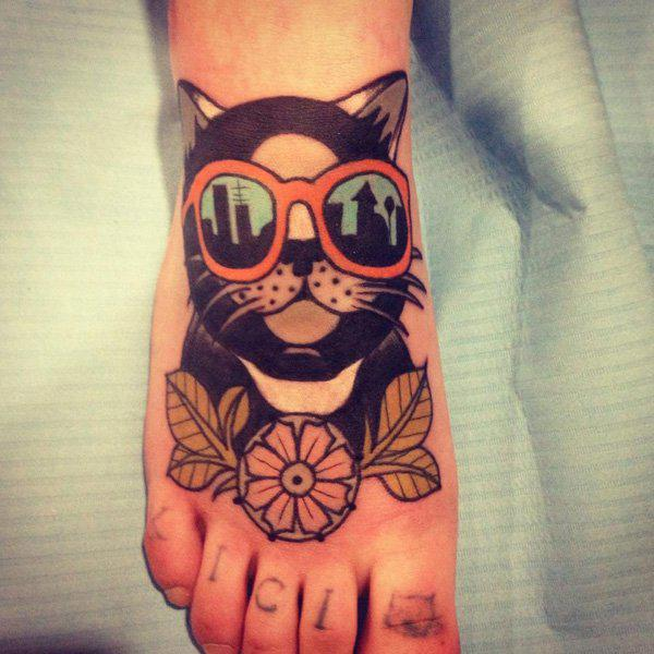 Cat Tattoos Every Cat Tattoo Design Placement And Style: 45 Cute And Lovely Cat Tattoos Ideas For Cat Lovers