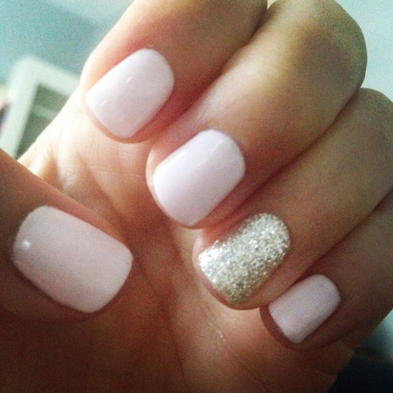 Gel Nail Polish Light Pink: 50 Stunning Manicure Ideas For Short Nails With Gel Polish