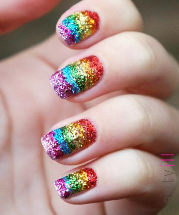 30 Cool Colorful Rainbow Nail Designs You Won T Miss Ecstasycoffee