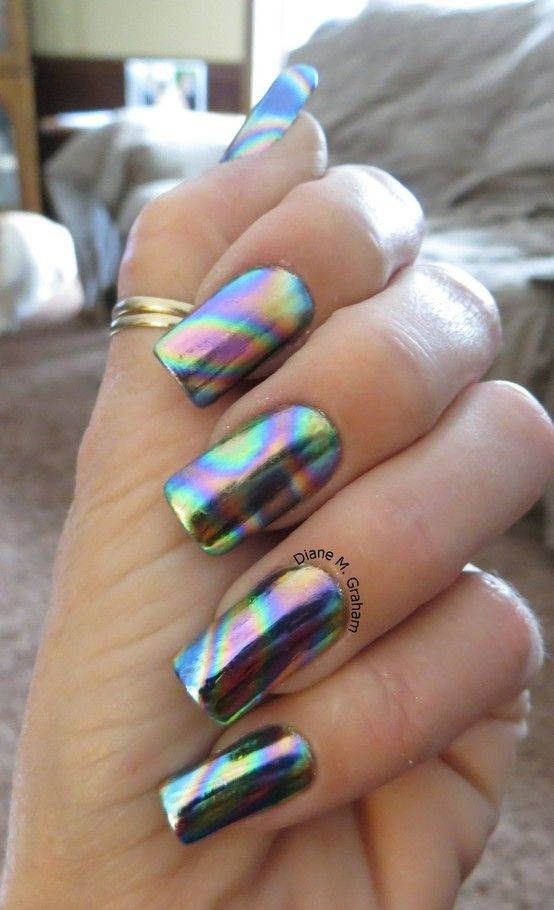 30  cool colorful rainbow nail designs you won u2019t miss