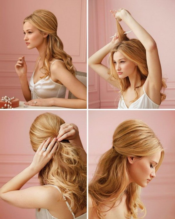 Wedding Simple Hairstyles: 30 Fashionable Half-Up Half-Down Hairstyles To Make You