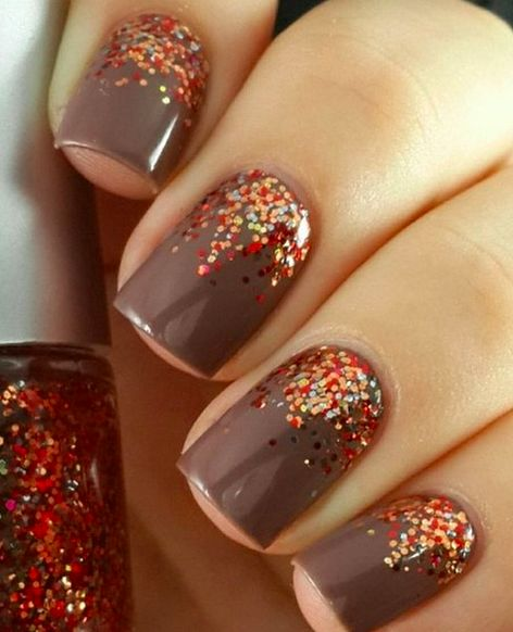 Fall Nail Art: 40 Gorgeous Fall Nail Art Ideas To Try This Fall