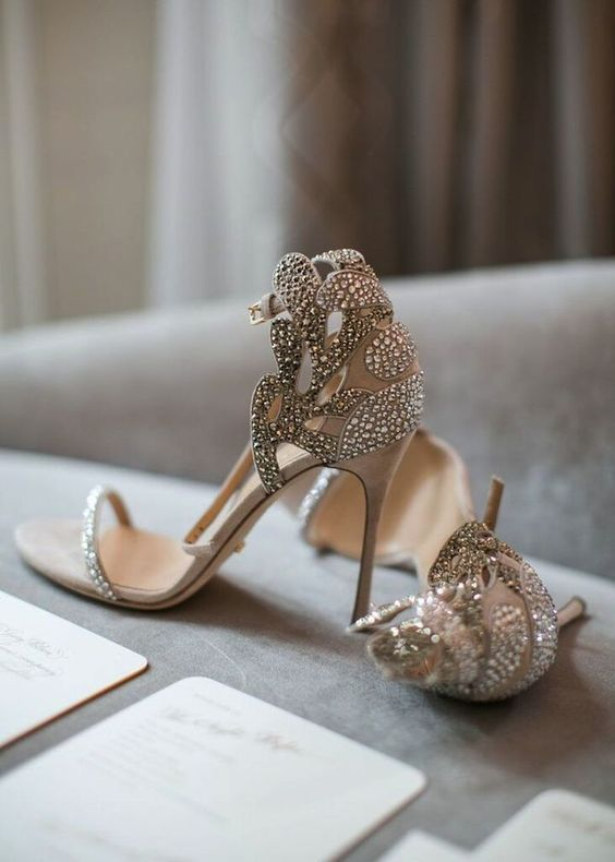 aaa3ffe67ef9b2 25 Fabulous Wedding Shoes For Brides To Look Elegant » EcstasyCoffee