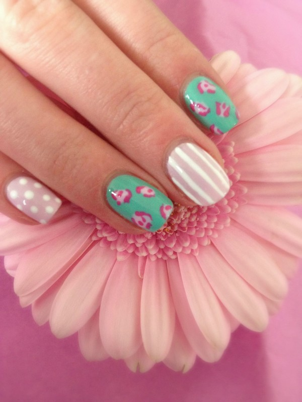 amazing shellac manicure ideas - Shellac Nail Design Ideas
