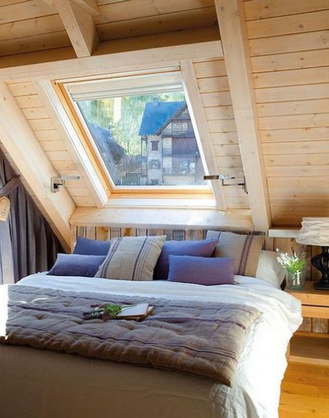 50 beautiful attic bedroom designs and ideas ecstasycoffee for Attic bedroom designs