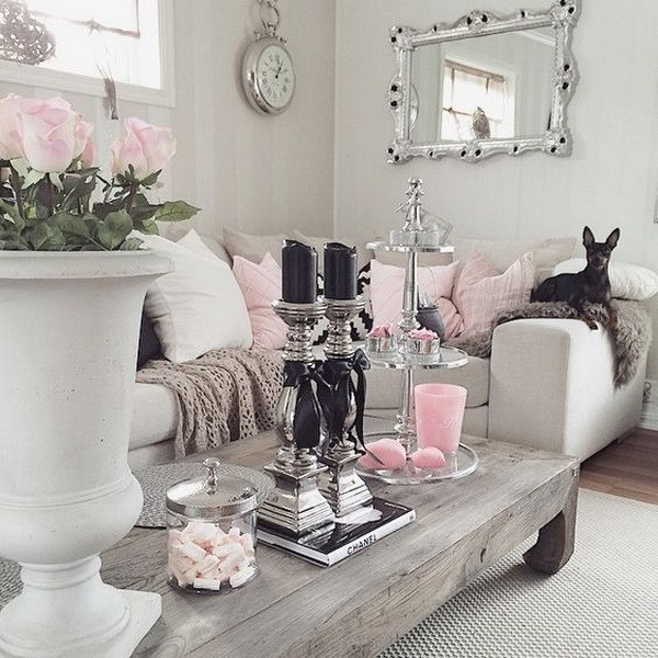 50 cool shabby chic living room decor ideas ecstasycoffee for Modern shabby chic living room ideas