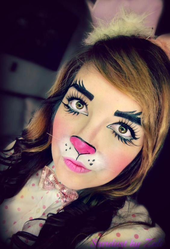 50  scary and unique halloween makeup ideas that are actually easy