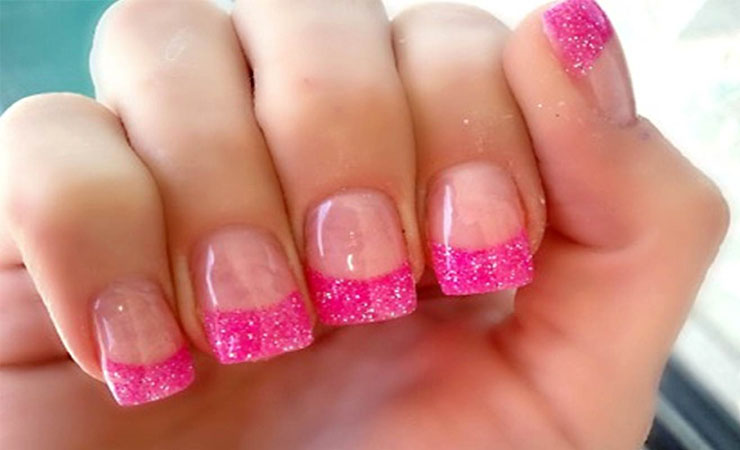 60 Awesome French Nail Designs That Will Blow Your Mind | EcstasyCoffee