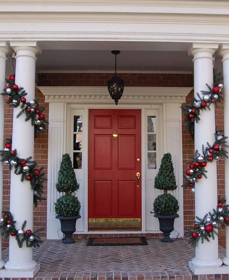 45 Amazing Decorating Ideas To Create A Stylish Nursery: 38 Amazing Christmas Porch Decor Ideas