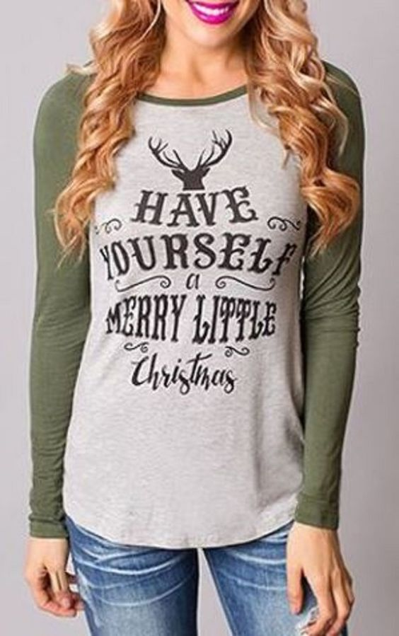 Cute Christmas Shirts For Women