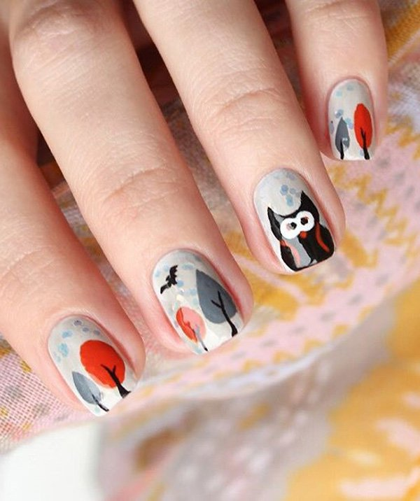 Art Designs: 40 Amazing Classic Nail Art Designs