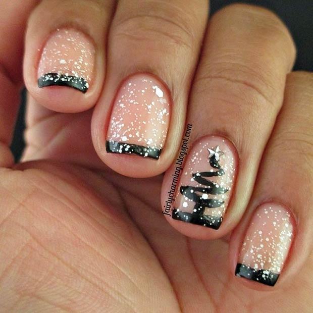 60 Awesome Christmas Nail Art Designs