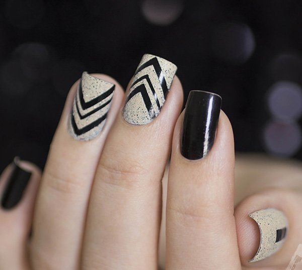 White Nail Polish In Winter: 40 Best Fall/Winter Nail Art Designs To Try This Year