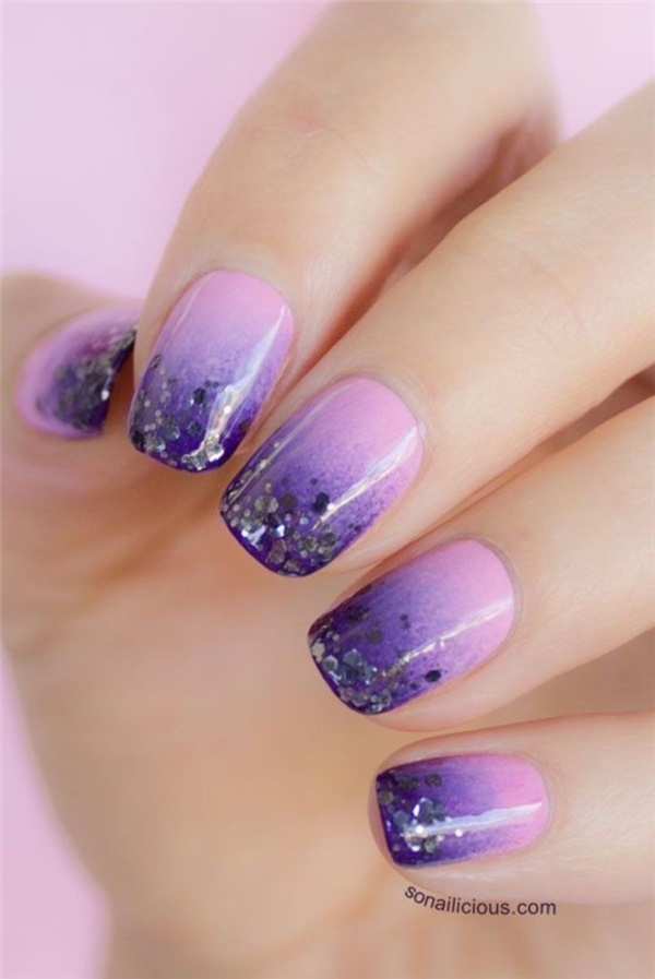 65 incredible glitter accent nail art ideas you need to try glitter accent nail art 15 prinsesfo Gallery