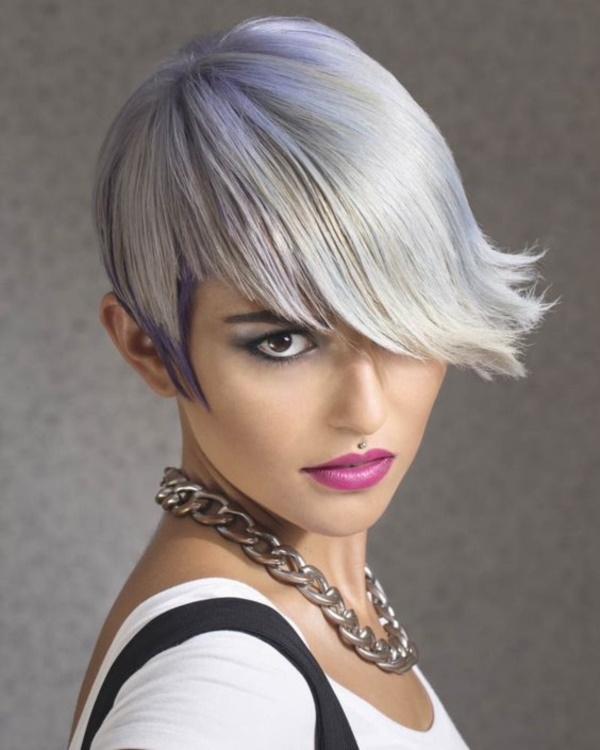 40 Cool Grey Hairstyles Ideas Ecstasycoffee