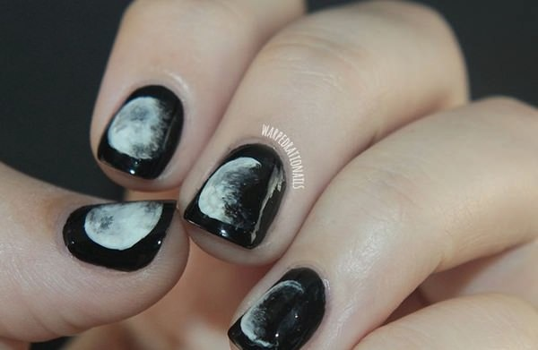 Nail Art Designs Half Moon With Tip The Best Inspiration For