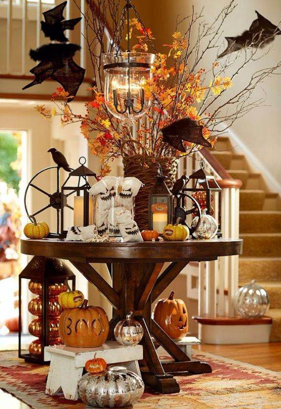 40 awesome fall and halloween decor ideas ecstasycoffee for Awesome halloween decoration ideas