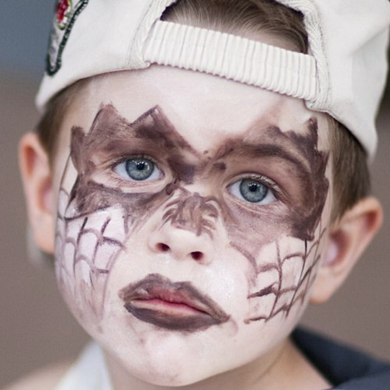30 Scary And Unique Kids Halloween Makeup Ideas