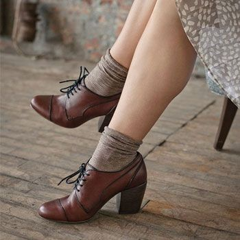 Gorgeous Oxford Heels You'd Love To Wear