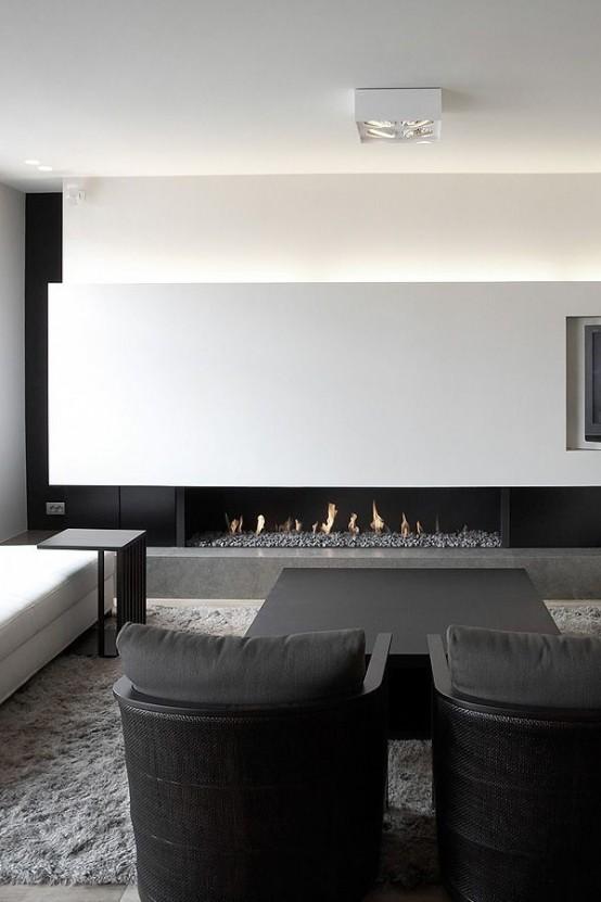 65 modern minimalist living room ideas ecstasycoffee for Modern minimalist living room design