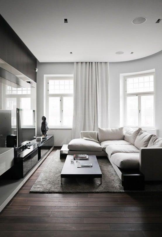 65+ Modern Minimalist Living Room Ideas | EcstasyCoffee