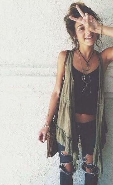 25 Ways To Dress Like A Hippie Ecstasycoffee