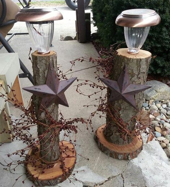 Home Made Modern Pinterest Easy Christmas Decorating Ideas: 40 Stunning Rustic Christmas Decor Ideas