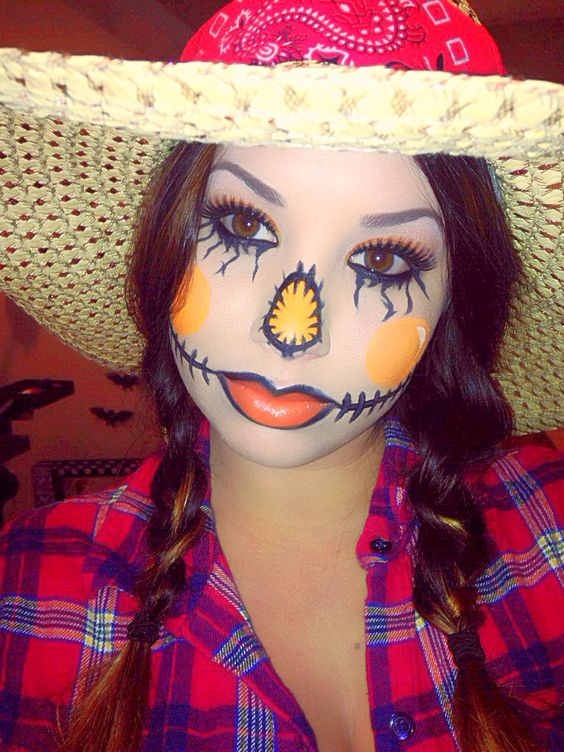 Scarecrow Halloween Costumes For Girls