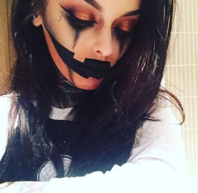 50 scary and unique halloween makeup ideas that are