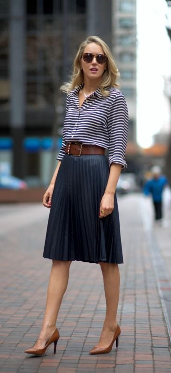 40 Belt Outfits To Upgrade Your Styles Ecstasycoffee