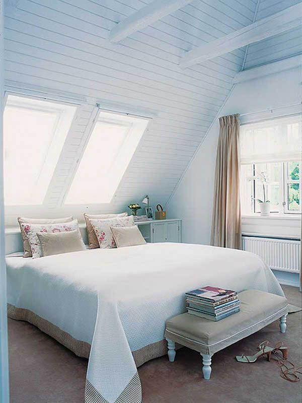Rooms In Roof Designs: 50 Beautiful Attic Bedroom Designs And Ideas » EcstasyCoffee